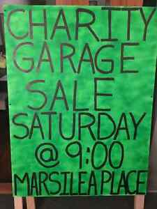 HUGE CHARITY GARAGE SALE