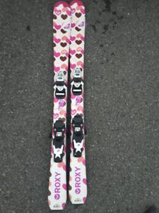 Ski Roxy 110cm/ Bottes rossignol 23.5