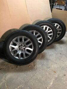 Rims Factory Nissan with Studded Tires