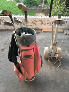 Golf set - Woman Left