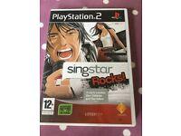 PS2 Singstar rocks