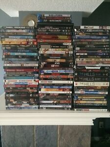 Dvd's and blue rays