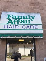 Licensed Hairstylists wanted to rent chair