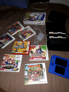 Ds and bunch of brand new games