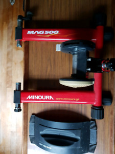 MINOURA MAG500 BIKE TRAINER FOR SALE!!!