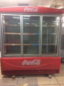 Coca Cola Drinks Fridge