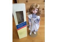 Blonde ornamental doll