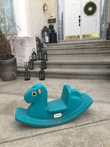 Awesome little tikes horse totter / rocker Kids love this thing