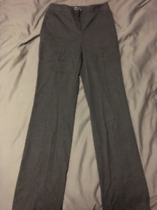 Size 2 Dark Grey RW&Co Dress Pants