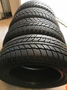 4 pneus d'hiver NEUFS Dynamo 205/55r16