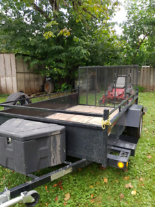 Selling my trailer and lawn tractor