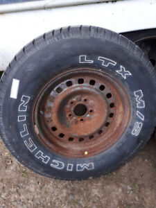 Brand New 235/70/R16 Tire and Rim