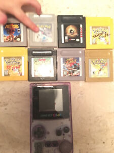 Gameboy Color and 8 games