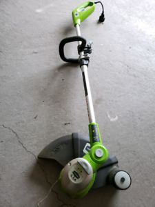 Electric trimmer, weed whacker