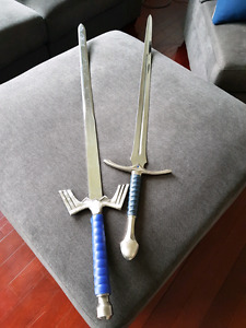 Sword Replicas  (Glamdring and Master Sword)