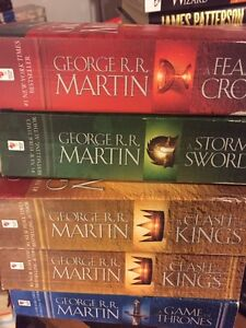 A GAME OF THRONES 4 Book series