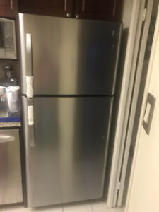 Kenmore Stainless Steel Refrigerator (Less than 2 years old)