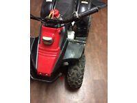 Kazuma 50cc semi automatic quad