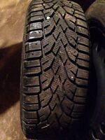 205-55-16 snow tires on 5 bolt Honda rims