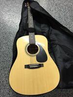 Yamaha guitar with soft case