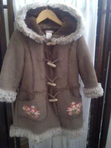 Girls Designer Deux Par Deux Fall / Winter Coat 2T - 4T