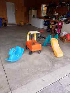 Lot of toddler toys, Gates, bed Kingston Kingston Area image 1