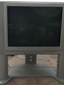 """JVC 36"""" TV with Stand"""
