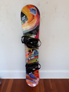 Super colorful snowboarding gear!
