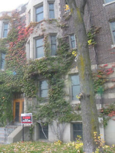 Renovated 5 1/2 - Westmount - Safe area - Outdoor space