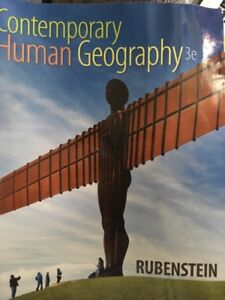 Contempotary human geography