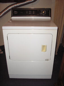 Maytag White Electric Dryer.