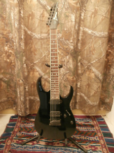 7 String Ibanez Electric Guitar