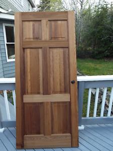 Solid Mahogany Interior Door