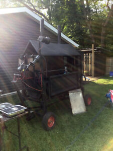 Rat Rod Spit And Smoker