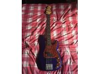 Fender Precision Jazz Bass with upgrades