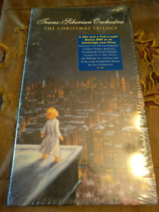 Brand new Trans-Siberian Orchestra The Christmas Trilogy