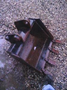"""John Deere 24"""" Mini Excavator/ Backhoe Bucket"""