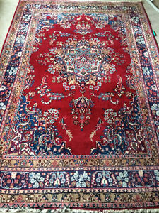 Gorgeous authentic hand made wool and silk Persian rugs and runn