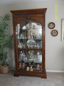 Ornate curio /china cabinet