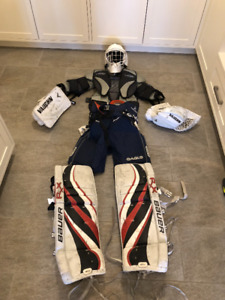 Youth Goalie Equipment Set - Very Good Condition