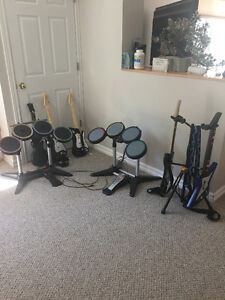 Rock Band for PS3 - Guitars, Drums, etc
