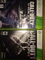 CALL OF DUTY BLACK OPS AND GHOSTS