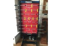 almost new foosball table. *EXCELLENT CONDITION*