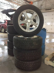 Winter Tires and Aluminum Alloy Rims for SUBARU