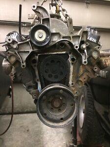 Mostly complete 3.9L Dodge Magnum truck engine