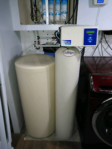 Culligan HE water softener and RO system