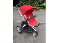 Quinny Buzz All Terrain 3 Wheel Buggy & Accessories