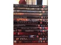 Horror dvd bundle