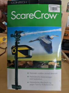New Water sprinkler pest deterrent Scare Crow Brand
