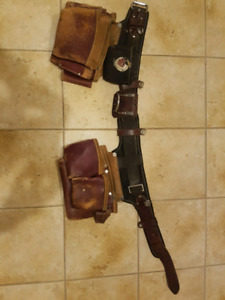 used Occidental leather pro framer tool belt for sale